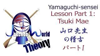 Yamaguchi Sensei Lesson 1: Tsuki Mae