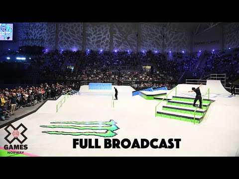 REPLAY: Monster Energy Men's Skateboard Street | X Games Norway 2019