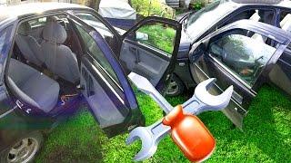 Как облегчить открытие задних дверей на автомобиле Ваз 2110.#СельхозТехника ТВ№13