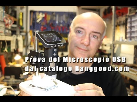 Prova Microscopio Elettronico con display dal catalogo Banggood