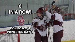 Don Bosco 4 Princeton Day 1 Hockey Highlights
