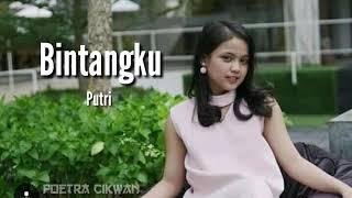 PUTRI   Bintangku (Official Lyric)