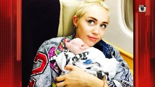 Miley Cyrus Gets a Piglet!