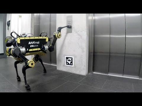 No nyt robotit osaavat jo käyttää hissiäkin…