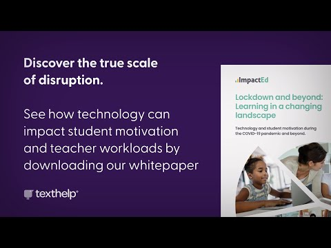 Learning in a changing landscape whitepaper - UK findings