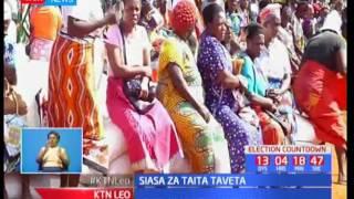 Mgombea seneta Bi Joyce Lay ashutumu matamshi kwa siasa za Taita Taveta