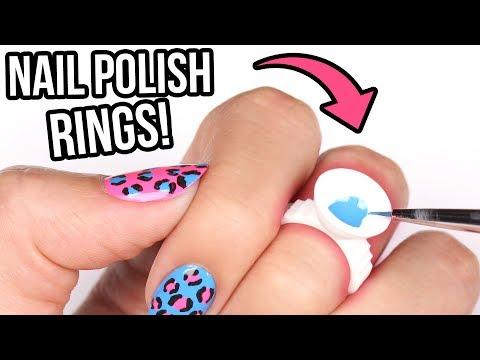 TESTING NAIL POLISH RINGS!!!