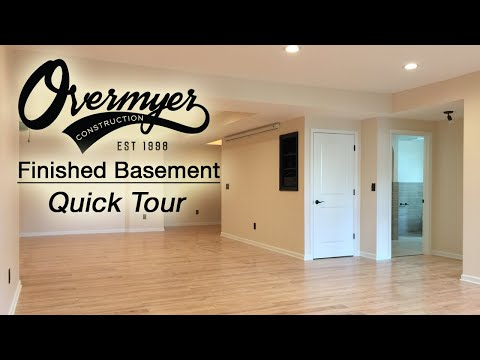 Finished Basement Tour 2018 / Finished Basments Novi MI / Overmyer Construction