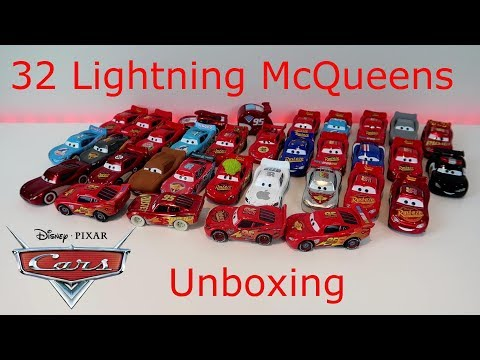 Epic Lightning McQueen Diecast Collection Unboxing 1:55 Scale