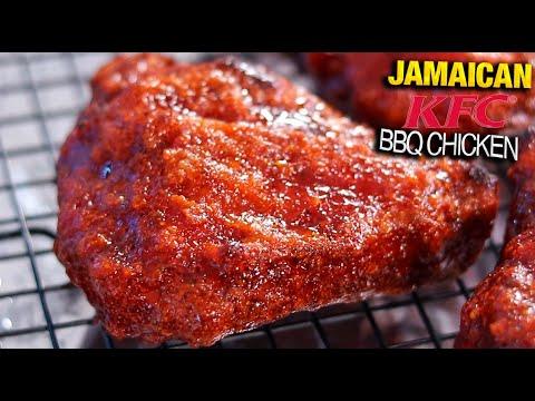Yum: How To Make JAMAICAN KFC CRISPY FRIED BBQ CHICKEN