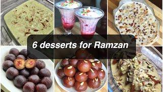 6 tasty dessert recipes for Eid | Ramzan special recipes