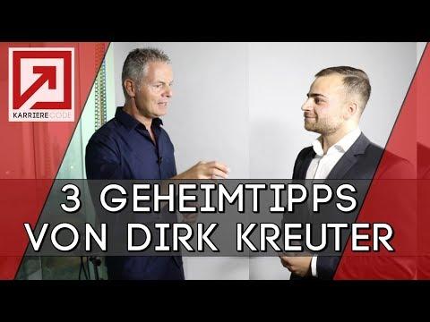 Vorstellungsgespräch - 3 GEHEIMTIPPS vom bekanntesten Verkaufstrainer Dirk Kreuter!