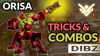 Overwatch: NEW Orisa Gameplay! Tips, Tricks, SICK Combos, & REINVENTING THE BOOP!