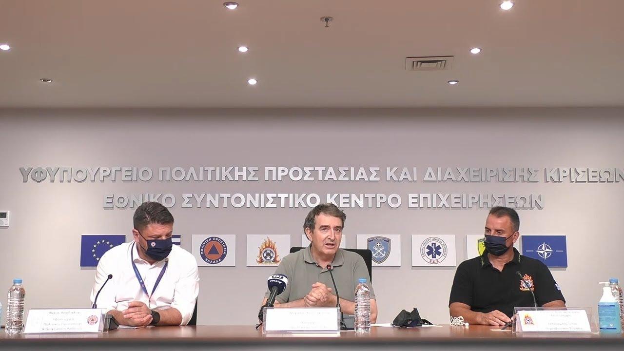 Ν. Χαρδαλιάς για πυρκαγιά στη Σταμάτα Αττικής: Η κατάσταση δείχνει βελτιωμένη