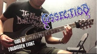 Dissection - God of Forbidden Light (guitar cover)