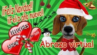 video navideño para enviar por whatsapp facebook | abrazo navideño virtual | mensaje Feliz Navidad