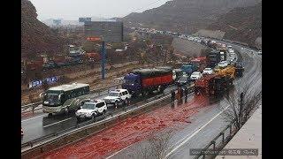 жесткие и страшные МОТО аварии от Car Crash