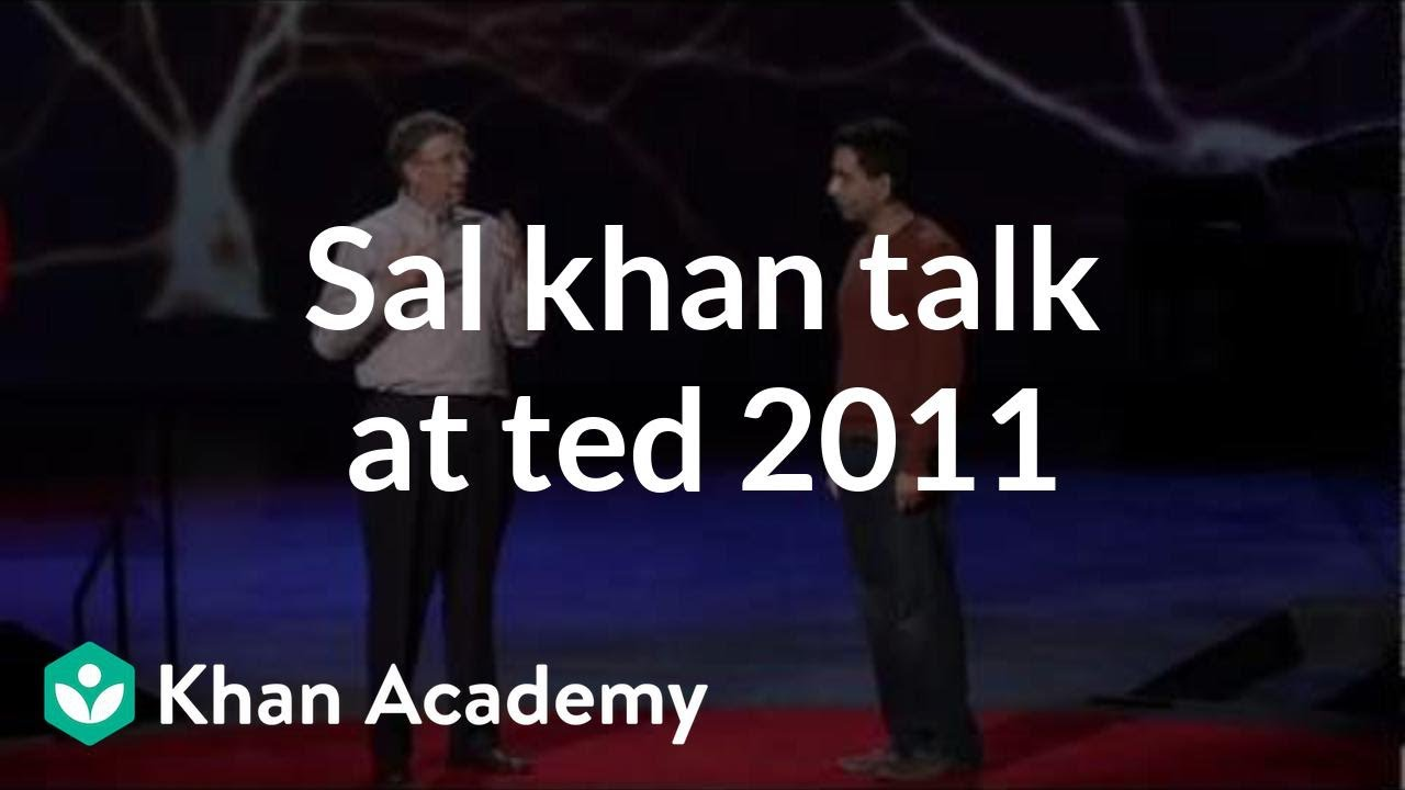Khan Academy: Your Own Personal Tutor