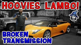 The CAR WIZARD has huge issues to get a computer to fix Hoovies 2006 Lamborghini Murcielago