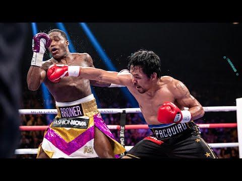 Pacquiao vs Broner FULL FIGHT: January 19, 2019 - PBC on Showtime