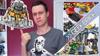 #GeekBrick Цены на LEGO NinjaGO Movie, Новые наборы по MARVEL и DC, Скидки на LEGO