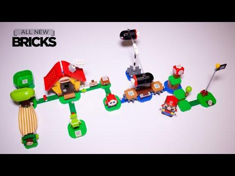 Vidéo LEGO Super Mario 71367 : La maison de Mario et Yoshi - Ensemble d'extension