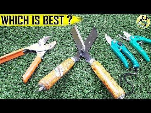 CHOOSING PRUNERS (SHEARS SECATEURS) | Plant Pruning Garden Tools – Gardening Scissors / Cutters