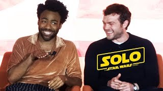 """Solo: A Star Wars Story"" FULL press conference with Donald Glover, Alden Ehrenreich, more"