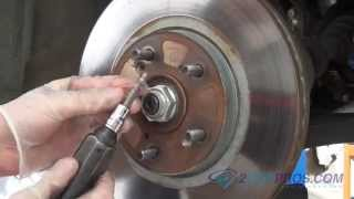 Brake Pad & Rotor Replacement Acura TL