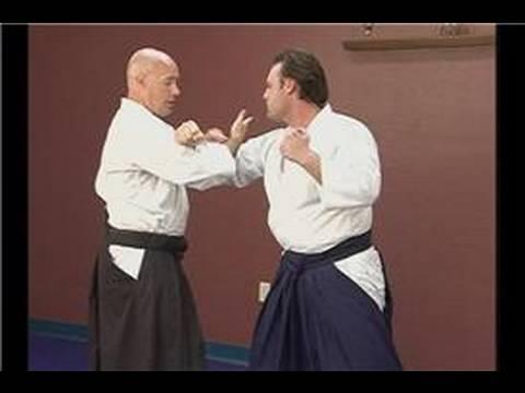 Intermediate Aikido: Mune Tsuki Waza : Mune Tsuki Waza: Hiji Otoshi
