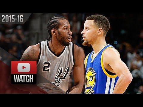 9ac430beb6b5 WCF Preview play. WCF Preview Kawhi Leonard vs Stephen Curry EPIC Battle  Highlights (2016.03.19) Spurs vs Warriors. play