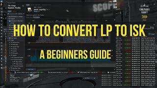How to Convert LP to ISK