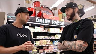 THE NIGHT SHIFT #5: grocery shopping with banks (addressing tfue + alissa)