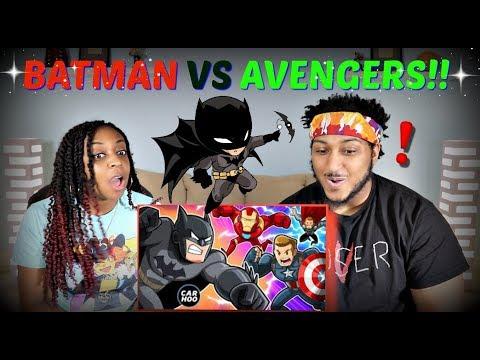 "CartoonHooligans ""BATMAN vs AVENGERS"" REACTION!!"