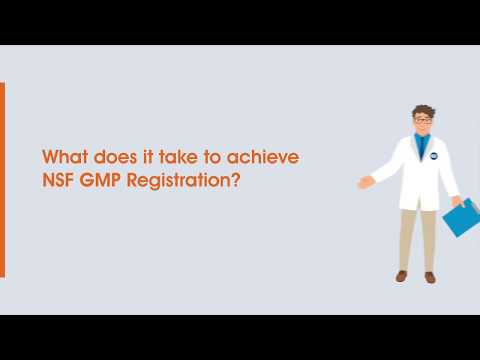 FIVE Easy Steps to NSF GMP Registration - YouTube