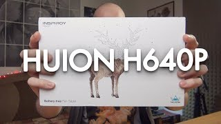 Drawing Tablet In Your BAG - Huion H640P Review