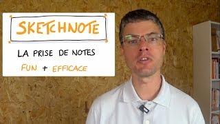 Vignette de SKETCHNOTES : La prise de notes FUN et EFFICACE