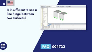 FAQ 004732 | Is it sufficient to use a line hinge between two surfaces?
