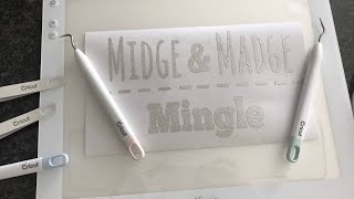 Cricut BrightPad and Weeding tool set