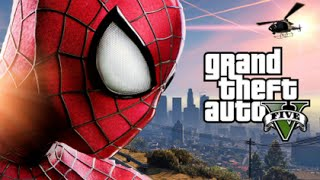 GTA 5 Mods - SPIDERMAN MOD! (GTA 5 PC Mods Gameplay)(Funny Moments)