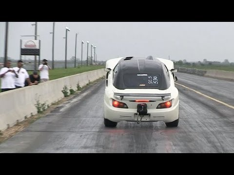 HUGE Honda S2000 Wheelie!