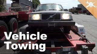 Car Trailer Towing Guide: How to Get Your Next Project Home