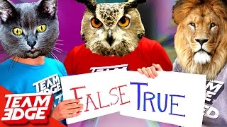 CRAZY ANIMAL FACTS YOU DIDN'T KNOW CHALLENGE!
