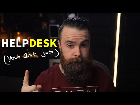 HELPDESK - how to get started in IT (your first job) - YouTube