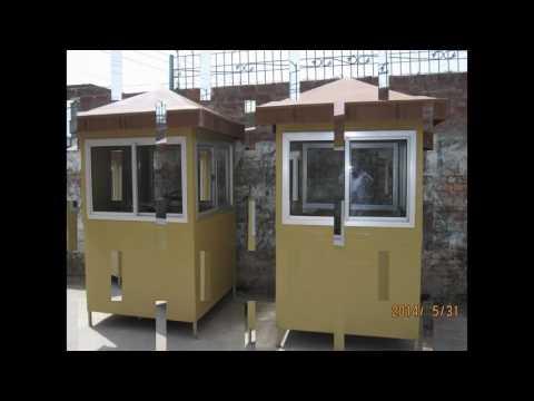 Fiberglass security Guard cabin