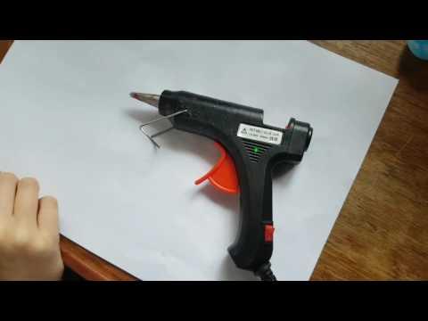 20W Hot Melt Art Craft Glue Gun with 50 glue sticks, from Banggood.com.