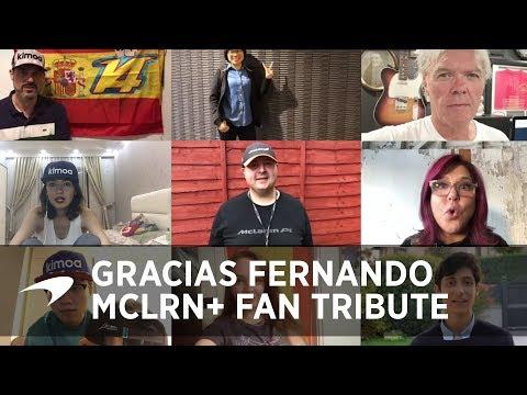 Gracias Fernando  |  MCLRN+ fan tribute