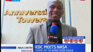 IEBC meets NASA: Stalemate over meeting venue
