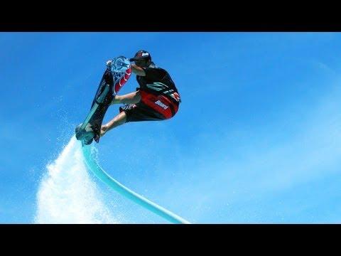Hoverboard: Πετώντας πάνω από τα κύματα [video 4k]