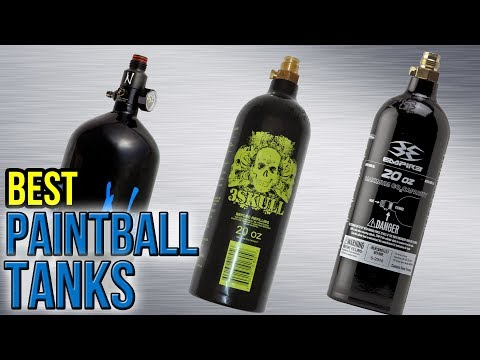 7 Best Paintball Tanks 2017